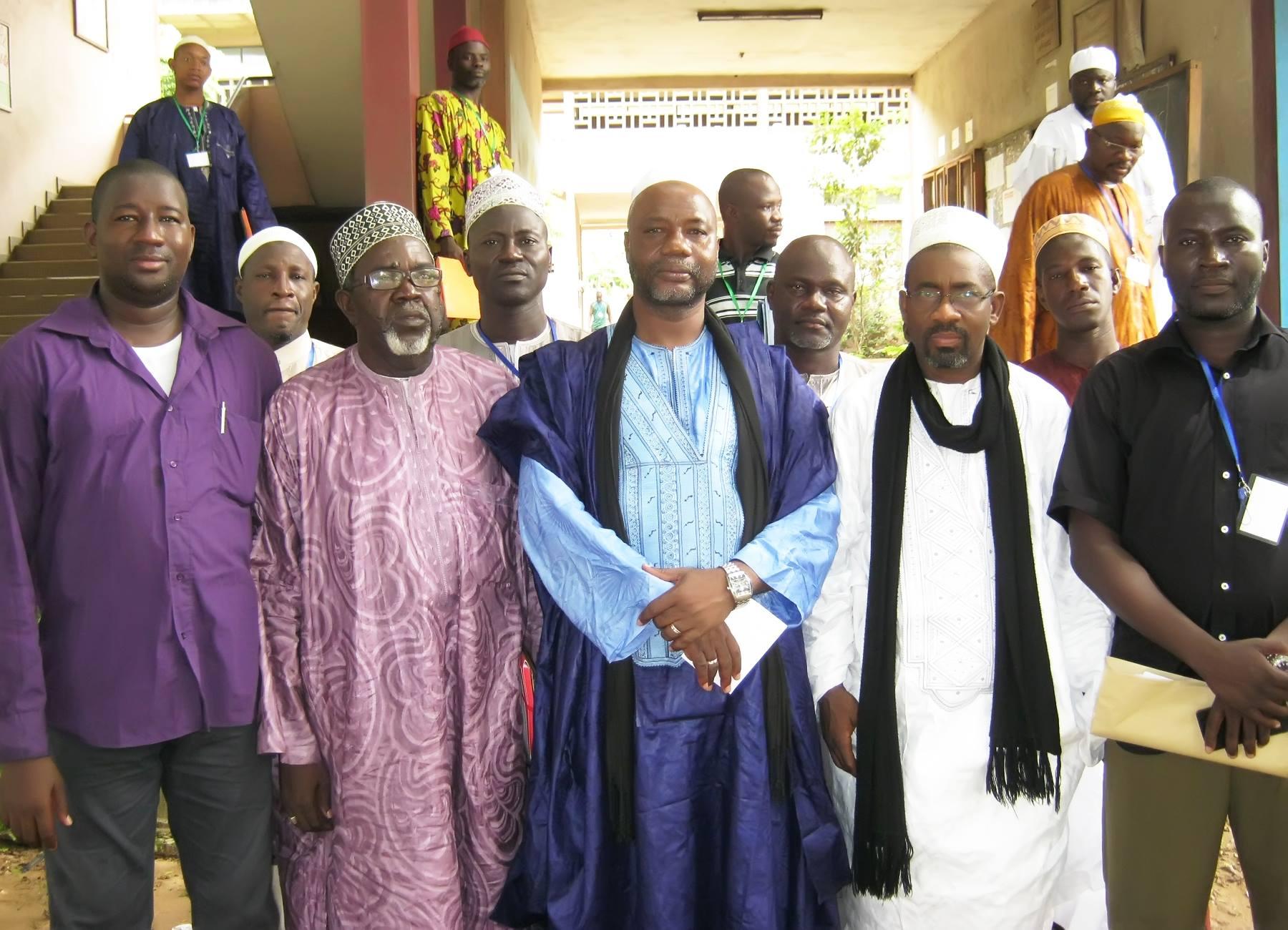 L'OEECI organise un Séminaire de renforcement de capacité administrative de ses enseignants au lycée municipal d'Attecoubé (Abidjan)