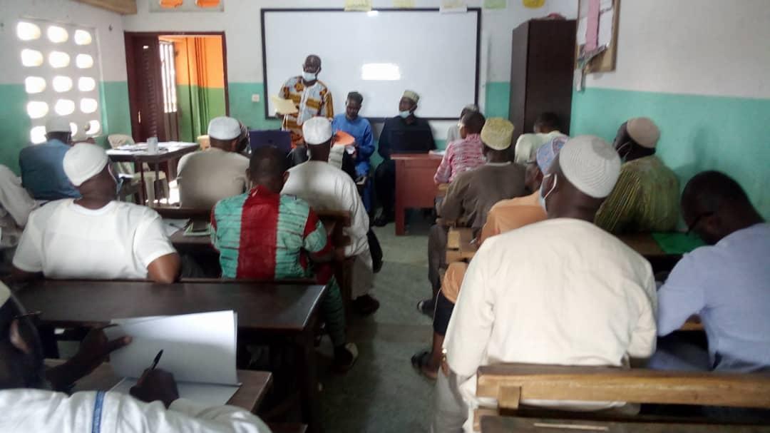 Une rencontre d'information entre l'OEECI et ses sections du grand Abidjan en faveur de la rentrée scolaire 2020-2021